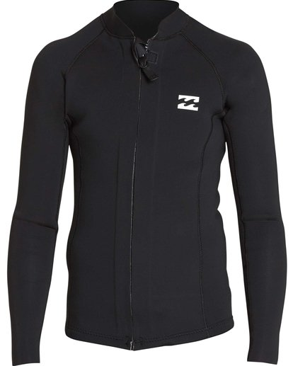 0 Boys' 2/2 Revolution Pump Front Zip Jacket Black BWSHQBF2 Billabong