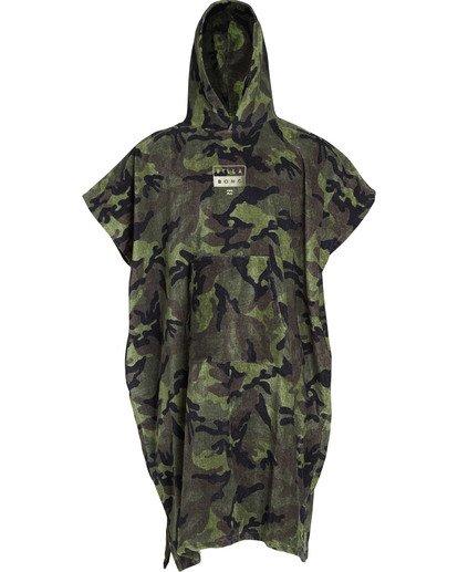 1 Boys' Hoodie Towel Camo BWTWTBHT Billabong