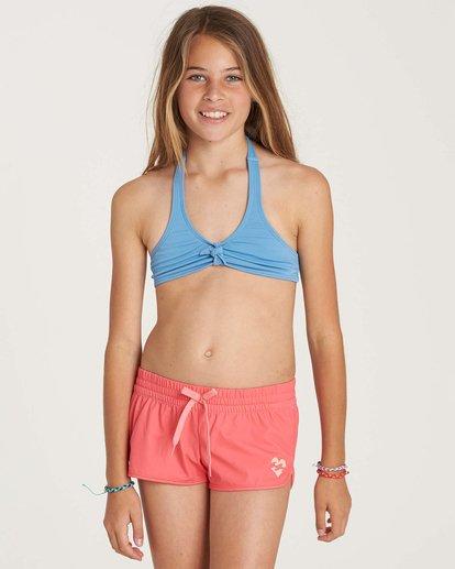 0 Girls' Sol Searcher Volley Boardshort Pink G101NBSO Billabong