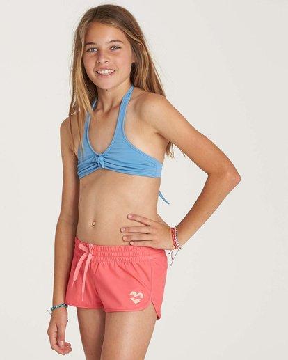 1 Girls' Sol Searcher Volley Boardshort Pink G101NBSO Billabong