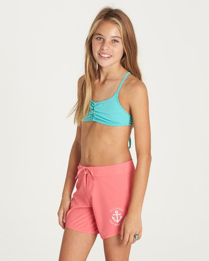 "1 Girls' Sol Searcher 5"" Boardshort Pink G102LSOL Billabong"