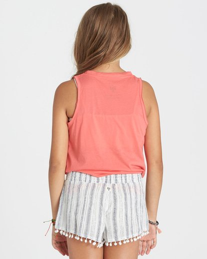 2 Girls' Spin Back Shorts  G204KSPI Billabong