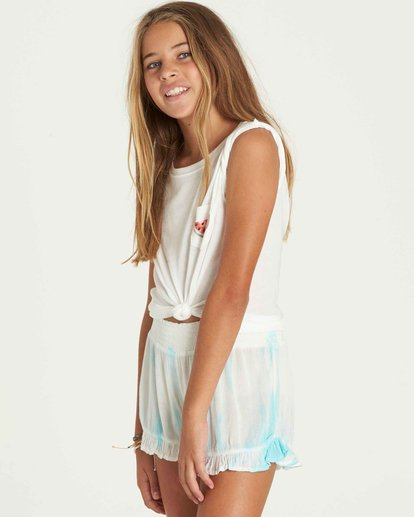 1 Girls' Wild Wave Shorts  G204PBWI Billabong