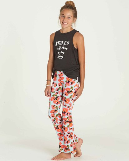 1 Girls' Tell Me Flare Pant  G301PBTE Billabong