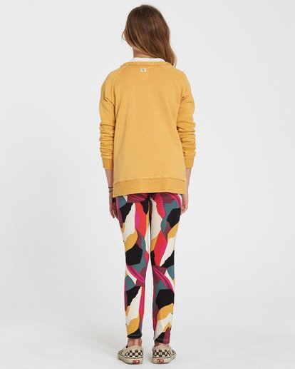 2 Girls' Leg Up Printed Legging  G302QBLE Billabong