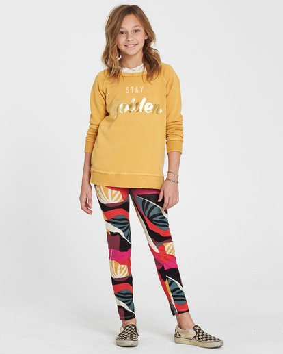 0 Girls' Leg Up Printed Legging  G302QBLE Billabong