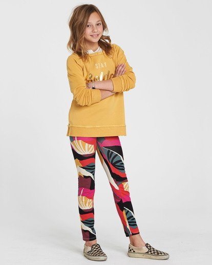 1 Girls' Leg Up Printed Legging  G302QBLE Billabong