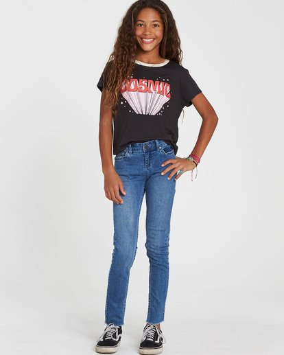 0 Girls' Straight Up Denim Jeans  G306SBST Billabong
