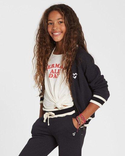 1 Girls' Girls' Rule Sweatpant Black G309SBGI Billabong