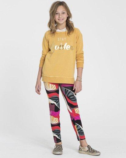 0 Girls' Leg Up Tie-Dye Leggings  G310SBLE Billabong