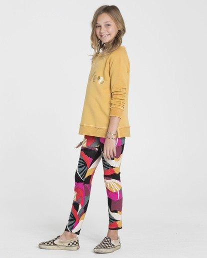 1 Girls' Leg Up Tie-Dye Leggings  G310SBLE Billabong