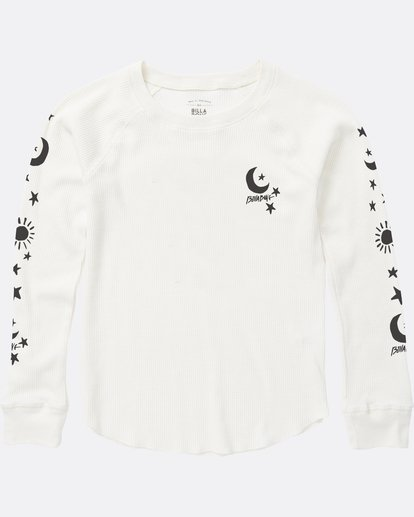 1 Girls' Star Power Thermal White G413SBST Billabong