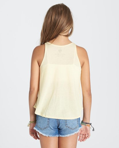 2 Girls' See You Later Tank Yellow G414KSEE Billabong