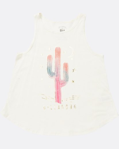 0 Girls' Desert Sky Tank White G414SBDE Billabong