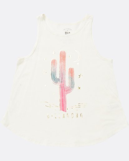 1 Girls' Desert Sky Tank White G414SBDE Billabong