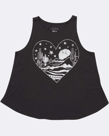 1 Girls' Desert Escape Tank Top Black G414TBDE Billabong