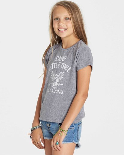 1 Girls' Little Owl Tee  G484KLIT Billabong