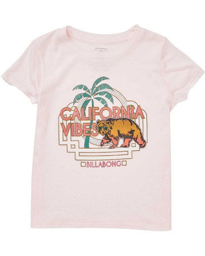 0 Girls' Cali Cool Tee Pink G484TBCA Billabong