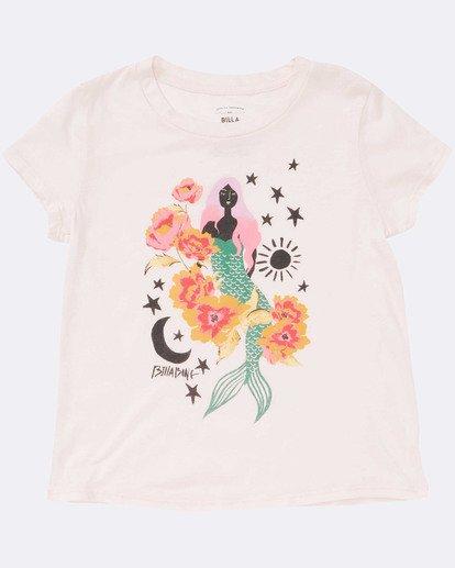 1 Girls' Mermaid Power Tee Pink G484TBME Billabong