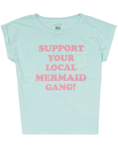 0 Girls' Mermaid Gang Tee  G491PBME Billabong