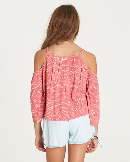 2 Girls' Forever Fun Top Pink G502LFOR Billabong