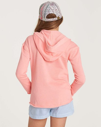 2 Girls' Days Off Pullover Hoodie Pink G601NBDA Billabong