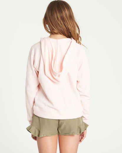 1 Girls' Days Off 2 Hooded Sweatshirt Pink G601TBDA Billabong