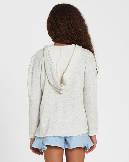 2 Girls' Days Off Pullover Hoodie Grey G603MDAY Billabong