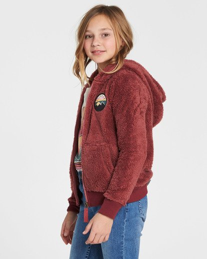 1 Girls' Cozy Town Fleece Purple G606QBCO Billabong