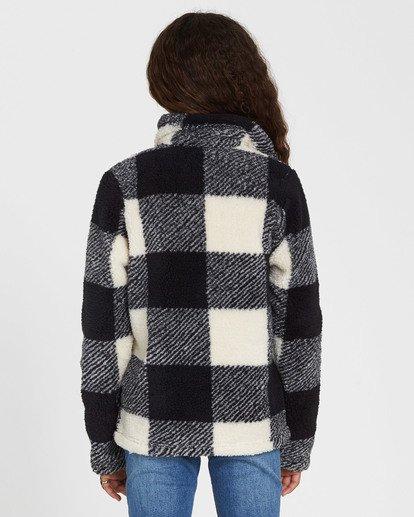2 Girls' Artic Oasis Polar Fleece Jacket Black G607SBAR Billabong