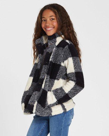 1 Girls' Artic Oasis Polar Fleece Jacket Black G607SBAR Billabong