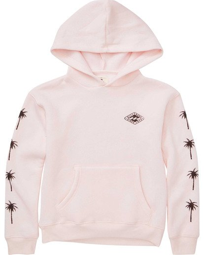 0 Girls' Stay Wild Hoodie Pink G651TBST Billabong