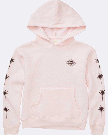 1 Girls' Stay Wild Hoodie Pink G651TBST Billabong