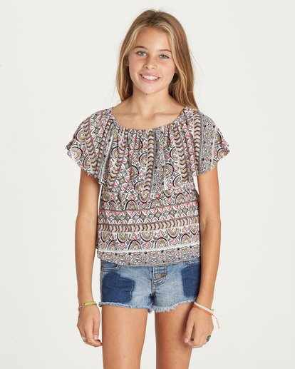 0 Girls' Better Sun Top  G902LBET Billabong