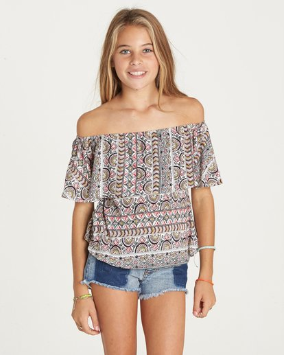 3 Girls' Better Sun Top  G902LBET Billabong