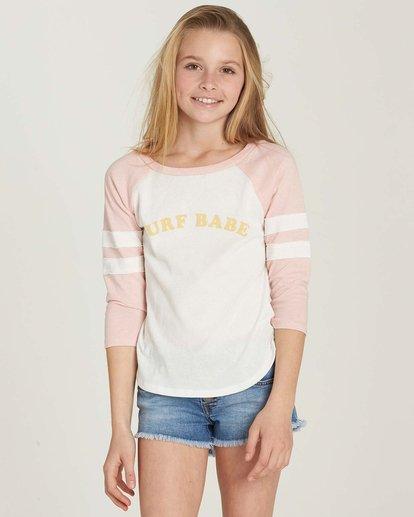 0 Girls' Surf Babe Top Pink G905MSUR Billabong