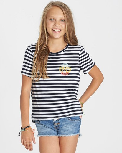 0 Girls' Too Close Tee  G906KTOO Billabong
