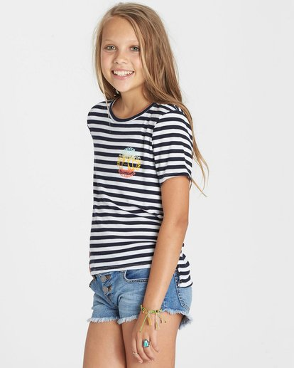 1 Girls' Too Close Tee  G906KTOO Billabong