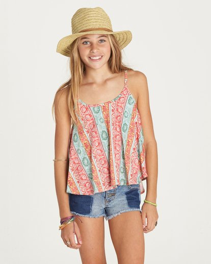 0 Girls' New Rage Top  G907LNEW Billabong