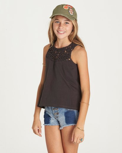 1 Girls' Second Look Top  G908LSEC Billabong