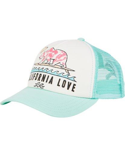 0 Girls' Pitstop Trucker Hat  GAHTHPIT Billabong
