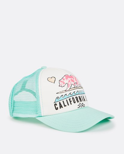 2 Girls' Pitstop Trucker Hat  GAHTHPIT Billabong