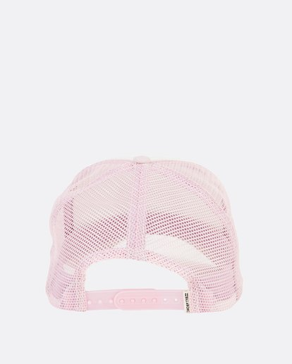 4 Girls' Pitstop Trucker Hat Purple GAHTHPIT Billabong