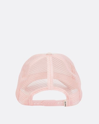 3 Girls' Pitstop Trucker Hat Pink GAHTHPIT Billabong