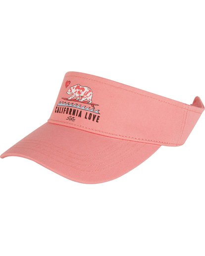 0 Girls' Peace Out Visor Pink GAHWNBPE Billabong