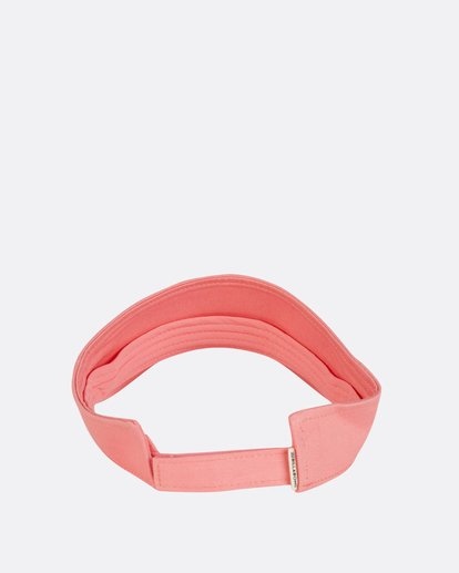 3 Girls' Peace Out Visor Pink GAHWNBPE Billabong