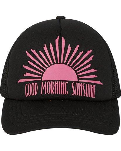 1 Girls' Ohana Trucker Hat Black GAHWPBOH Billabong