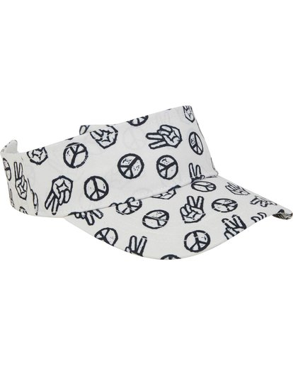 2 Girls' Peace Out Visor  GAHWPBPE Billabong