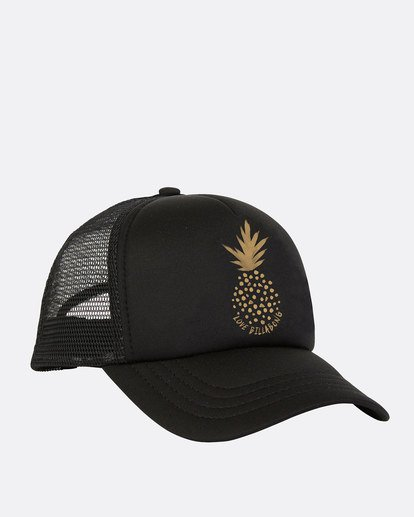 1 Girls' Ohana Trucker Hat Black GAHWQBOH Billabong