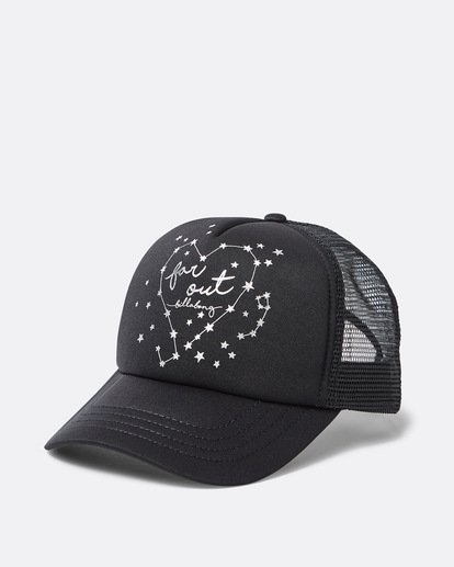 0 Girls' Ohana Trucker Hat Black GAHWQBOH Billabong